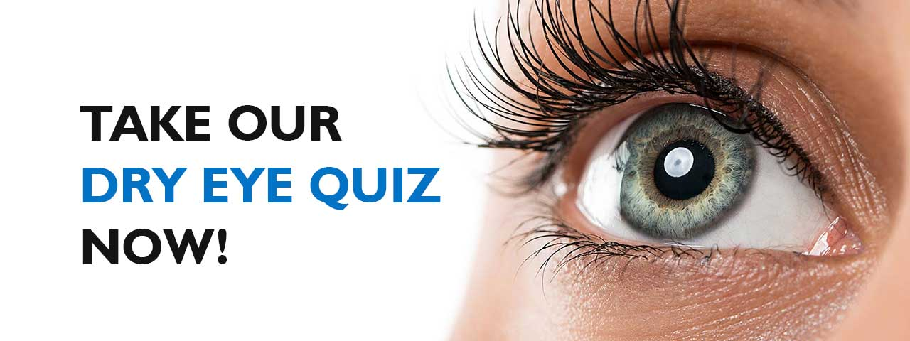 Ad for our Dry Eye Quiz in Lewis Center, OH