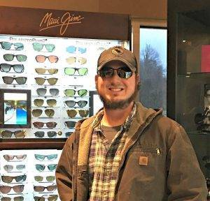 Taylor Landrum RIFA sunglasses winner Dec 2016