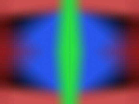 blue color illusion