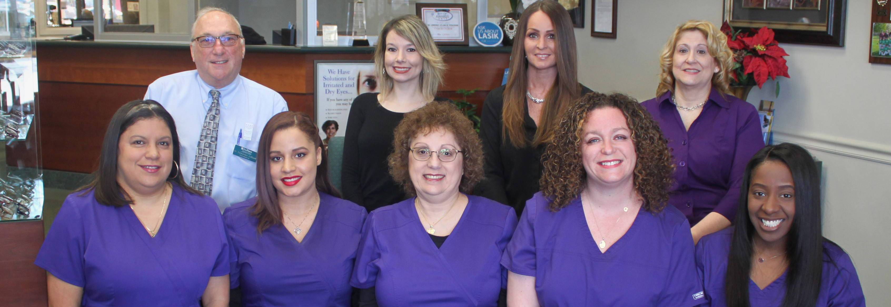 optometrist & eye exam, optical staff at TotalVision Eyecare Center in Wallingford Connecticut