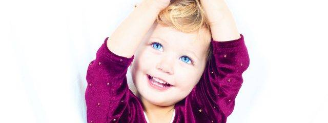 Eye doctor, happy blue eyed child in Cobble Hill, Duncan, Lake Cowichan and Chemainus, BC