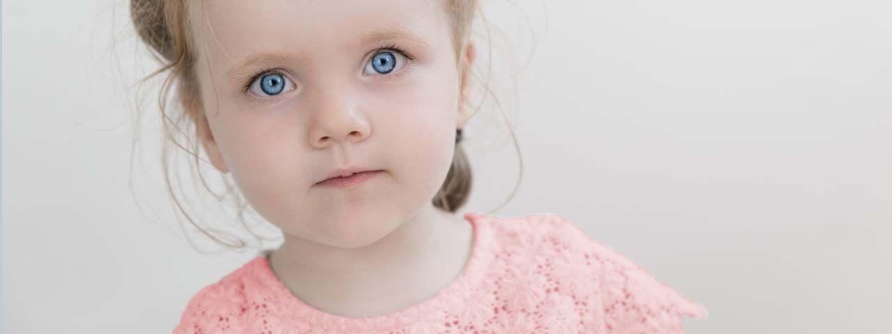 Little girl with strabismus in Saginaw & Hemlock, MI