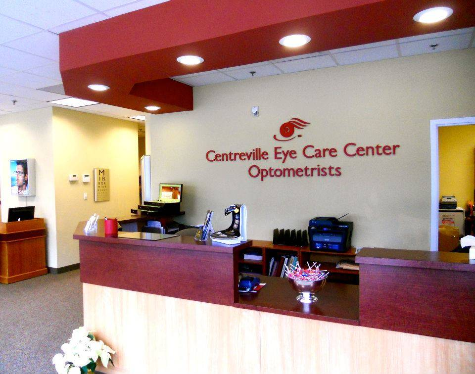 our Centreville Optometry office
