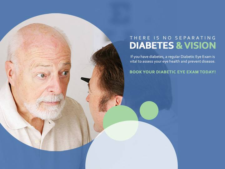 Diabetic Eye Exam Man - optmetrist, Irvine, CA