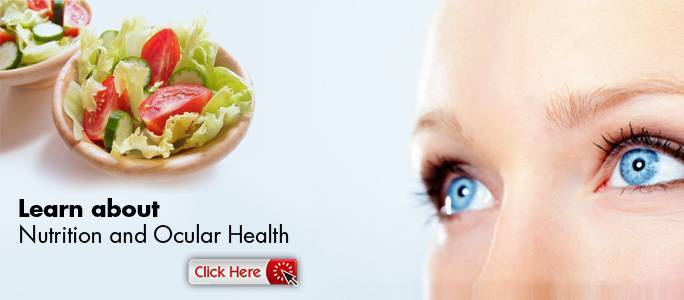 Learn about nutrition and ocular health in Calgary, AB