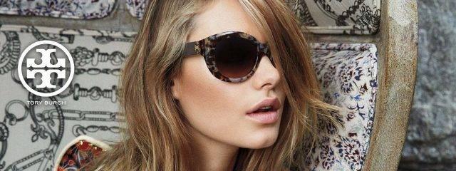 Eye doctor, woman wearing Tory Burch sunglasses in Chula Vista, CA