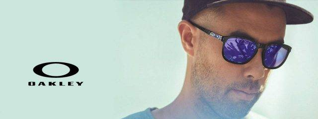 Eye doctor, man wearing oakley eyeglasses in Chula Vista, CA