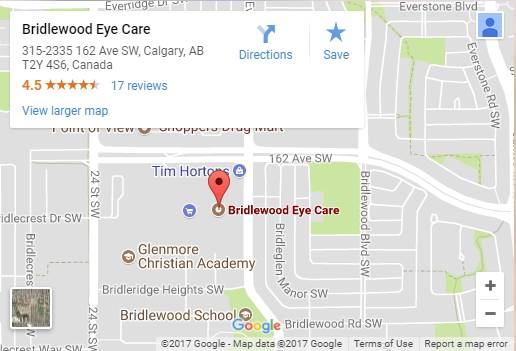 bridlewood-eye-care-map