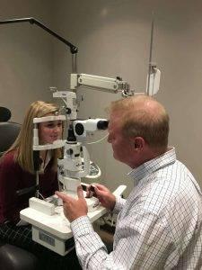 concussion 1, optometrist