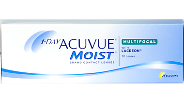 New Acuvue 1-Day Moist Multifocal Contact Lenses in Plymouth, MI