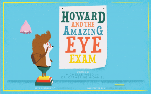 Howard the Amazing Eye Exam image