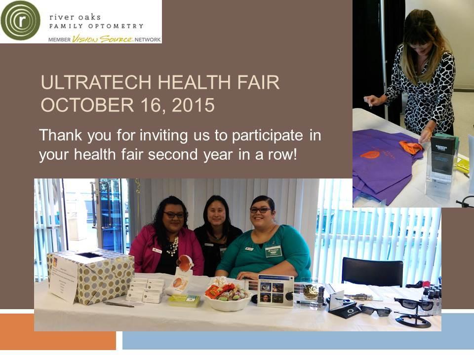 Ultratech Health Fair 2015 photo
