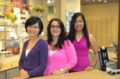 Melissa, Teresa & Jenny of Sheridan Optometric Centre