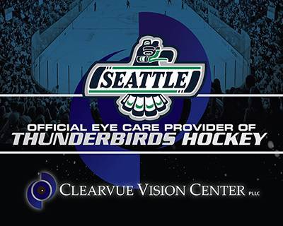We are proud to be the Official Eyecare Provider of the Seattle Thunderbirds Hockey Team!