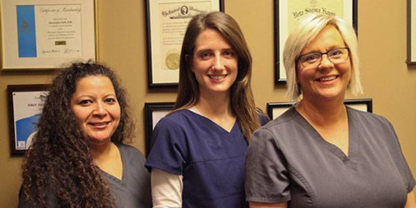 Gloria, Kristin, Kris, Optometric Technicians