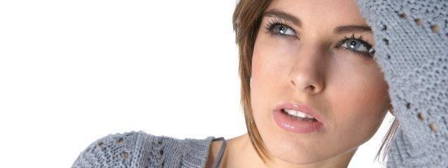 Woman Tired Blue Eyes 1280x480 640x240