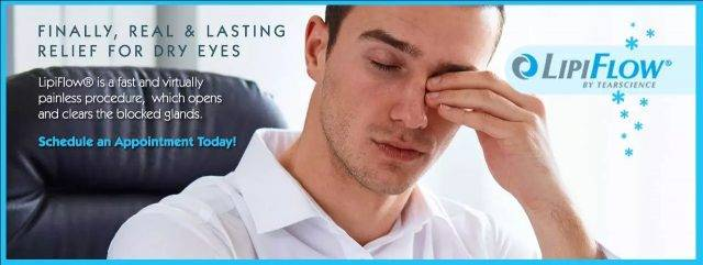 Relieve Dry Eyes with Lipiflow