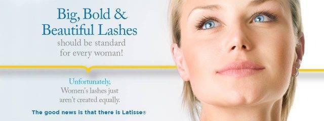 Optometrist, woman, long eye lashes after latisse treatment in Danbury & Stamford, CT