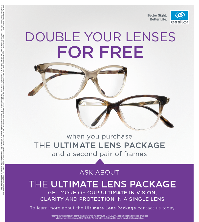 Double Lenses Poster