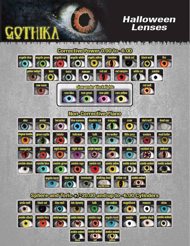 Gothika Lenses