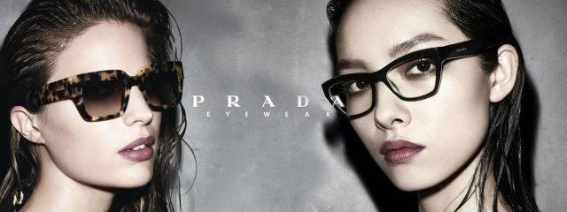 Eye doctor, women wearing Prada eyewear in Redwood City, CA