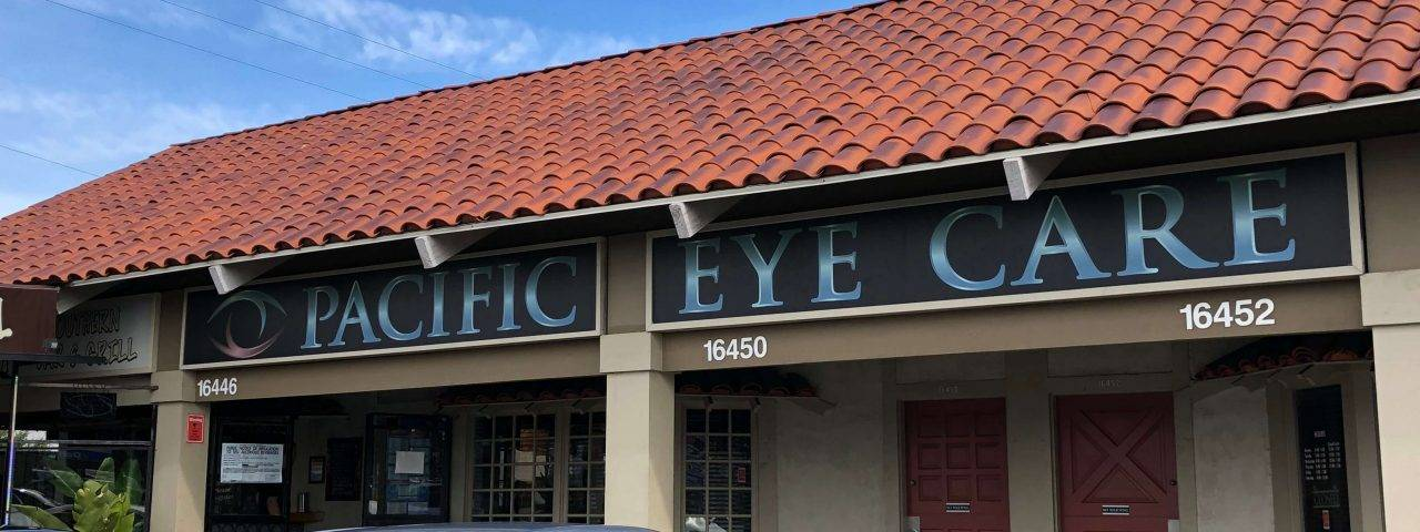 Pacific Eye Care office in Huntington Beach, California