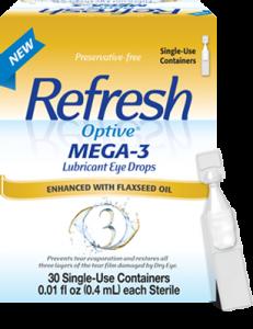 Eye Doctor, Refresh Optive Mega-3 Lubricant Eye Drops in Bardstown, KY.