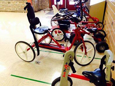 Bicycle offered by central austineye doctor