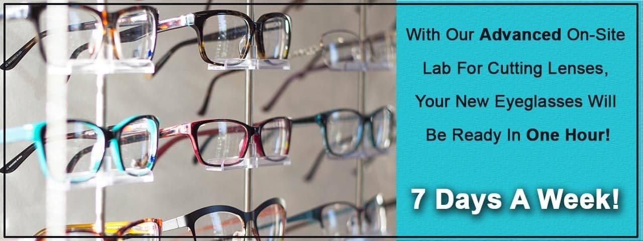 Glasses, eye doctor, Akron, OH