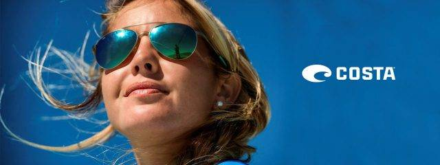 Optometrist, woman wearing Costa del Mar sunglasses in Tupelo, MS