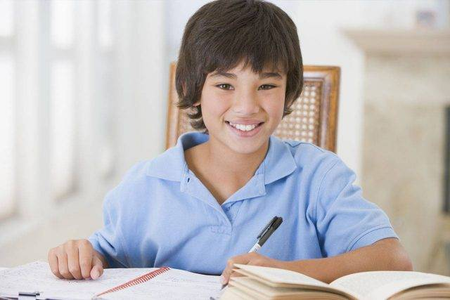 optometrist, Boy Wearing Soft Multifocal Contacts For Myopia Management in Fort Worth, TX