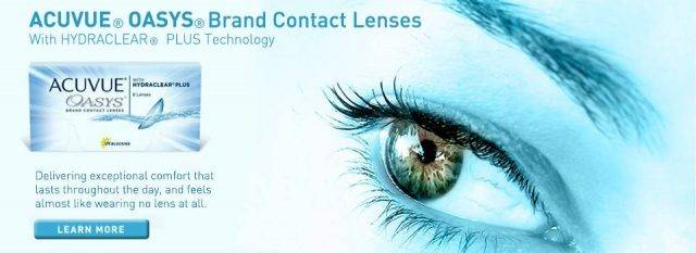 Optometrist, acuvue oasys contact lenses in Philadelphia & North Wales, PA