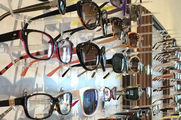 Eyeglasses Wall Display