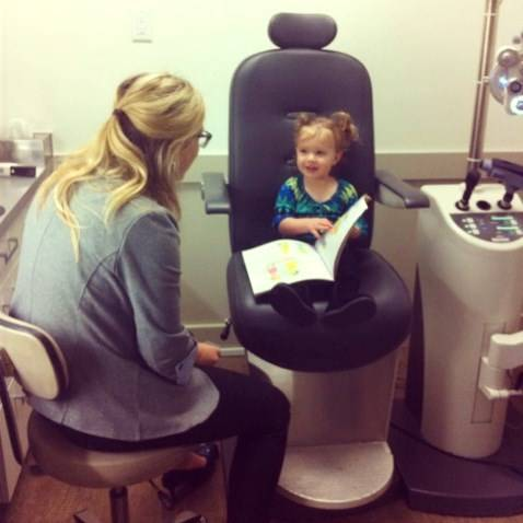 claire s first eye exam