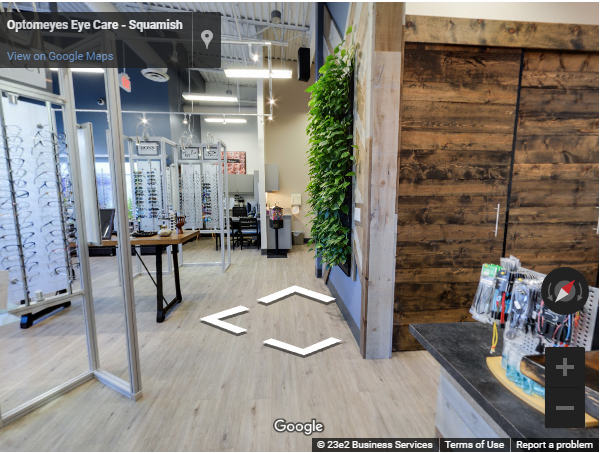 Eye doctor, virtual tour of our Squamish office in Squamish, BC