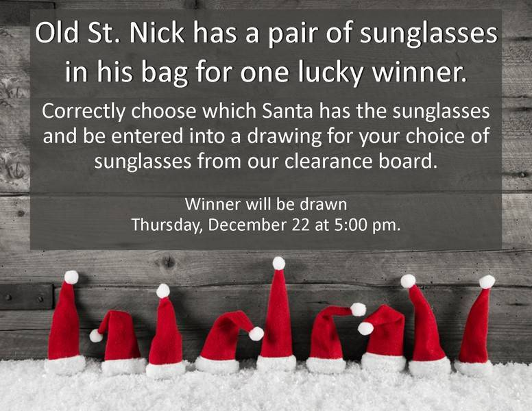 Win free sunglasses from your Fulton and Jefferson City optometrist!
