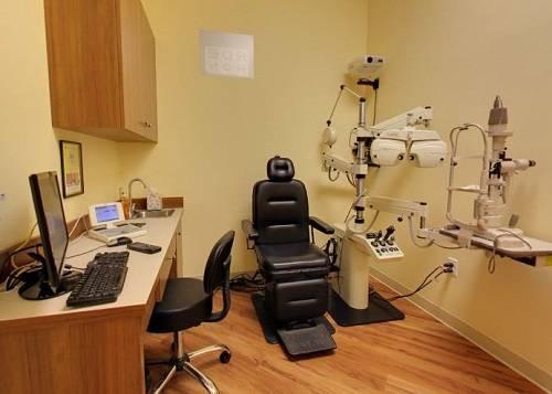 Our optometrist exam room, South Plainfield & Edison, NJ