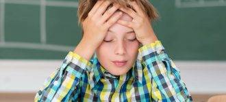 Eye exam for child at school in South Piscataway, NJ